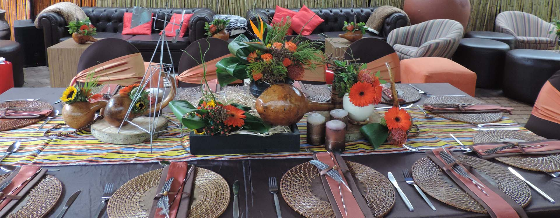 Traditional Wedding Decor Hire For African Weddings